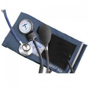 Baumanómetro aneroide con estetoscopio doble campana