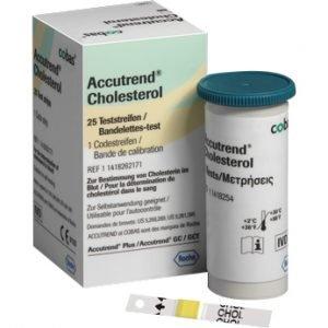 Tiras Reactivas Colesterol Accutrend