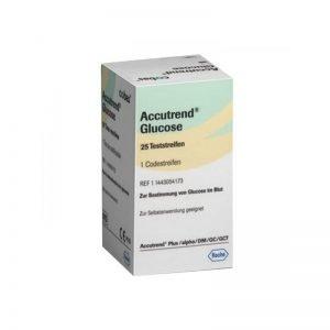 Tiras Reactivas Glucosa Accutrend