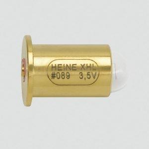 Foco Xenon Halogeno 3.5V Lámpara de recambio XHL Xenón Halógena 3,5 V para Retinoscopio de franja alpha + y Retinoscopio de franja BETA 200.