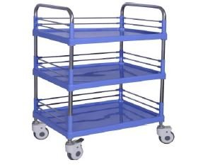 Trolley De 3 Charolas ABS