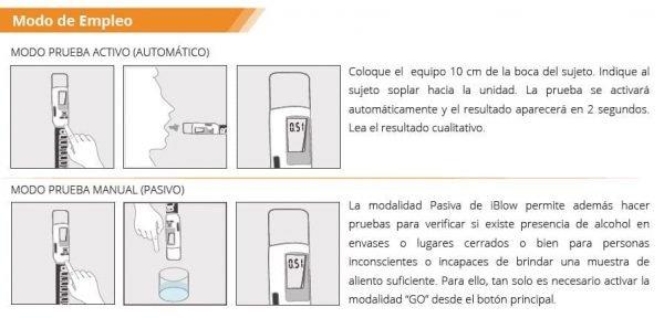 Alcoholímetro iBlow 10