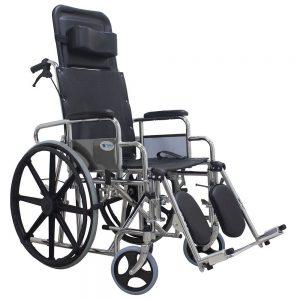 Silla De Ruedas Reclinable. Marca Medical Store. Modelo 903.