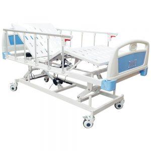 Cama Eléctrica (Trendelemburg) Hospitalaria. Marca Medical Store. Modelo 402.